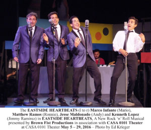 Photo 1 - The EASTSIDE HEARTBEATS (l to r) Marco Infante (Mario), ESH_A911 copy-1
