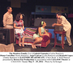 Photo 2 - The Ramirez Family (l to r) Gabriel Gonzalez (Carlos Ramirez), ESH_A686 copy